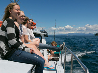 boat charter taupo