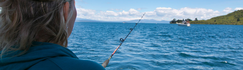 trout fishing lake taupo